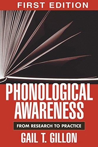 9781572309647: Phonological Awareness, First Edition: From Research to Practice (Challenges in Language and Literacy)