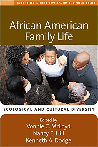 9781572309951: African American Family Life: Ecological and Cultural Diversity (The Duke Series in Child Development and Public Policy)