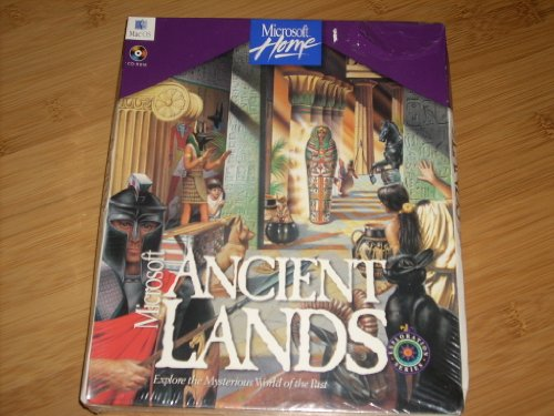 9781572310216: ANCIENT LANDS: EXPLORE THE MYSTERIOUS WORLD OF THE PAST (FOR MAC OS System 7 or later) NEARLY 1000 INTERACTIVE ARTICLES, WATCH AS THE ANCIENT PAST COMES TO LIFE IN VIDEO CLIPS, LEARN AMAZING FACTS IN NARRATED ANIMATIONS, NARRATED GUIDED TOURS (0495 Part No. 64915)