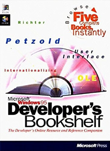 9781572313118: Microsoft Press Programmers Bookshelf for Windows 95, with CD-ROM