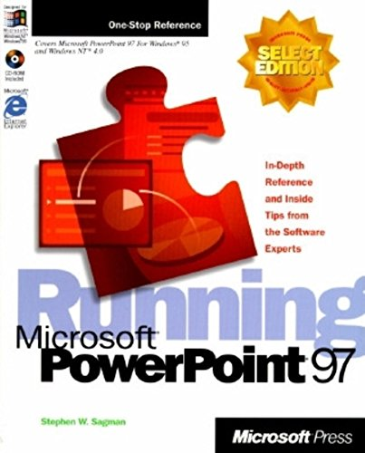 Running Microsoft PowerPoint 97 (Select Editions): Sagman, Stephen W