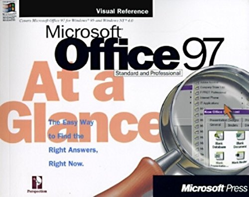 9781572313651: Microsoft Office 97 at a Glance (At a Glance (Microsoft))