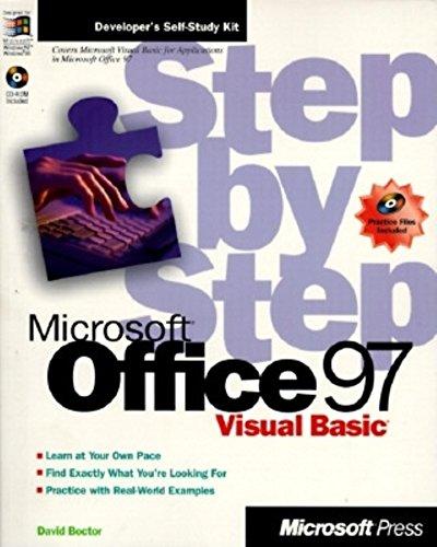 9781572313897: MS Office 97 Visual Basic Step by Step (Step By Step (Microsoft))