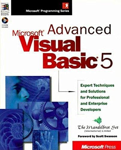 Advanced Microsoft Visual Basic 5: Microsoft Pr