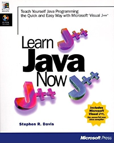 Learn Java Now, with CD-ROM: Davis, Stephen Randy