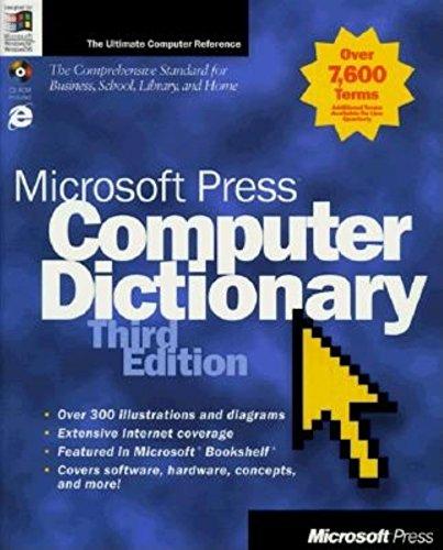 9781572314467: Microsoft Press Computer Dictionary