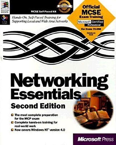 Networking Essentials: McSe Self-Paced Kit: Microsoft Corporation ,