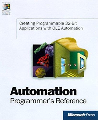 9781572315846: Automation Programmer's Reference (Microsoft)