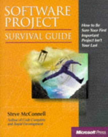 9781572316218: Software Project Survival Guide (Developer Best Practices)