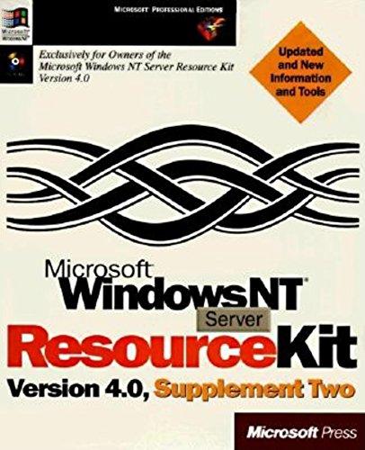 9781572316263: Microsoft Windows NT Server Resource Kit Version 4.0, Supplement Two