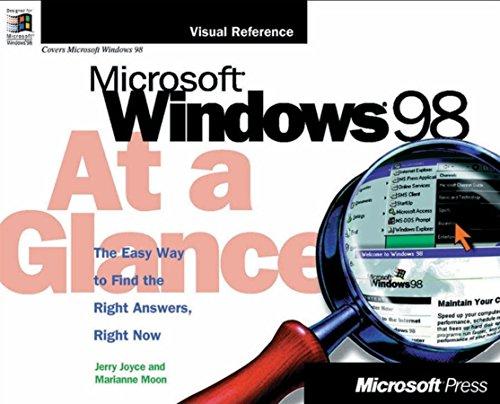 9781572316317: Microsoft Windows 98 at a Glance (At a Glance (Microsoft))