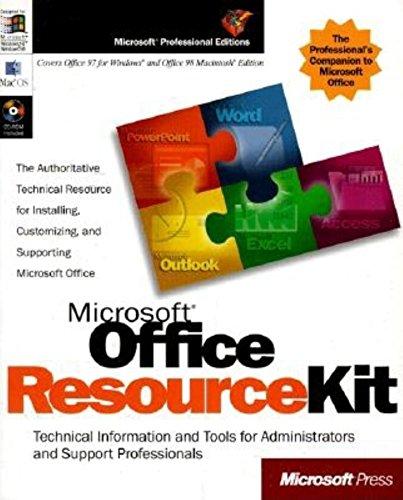 9781572316409: Microsoft Office 97 Resource Kit (Microsoft Professional Editions)