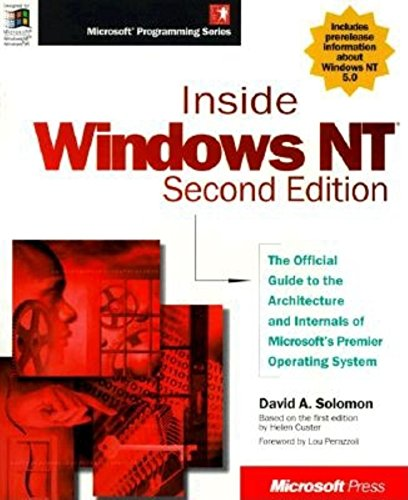 9781572316775: Inside Windows NT (Microsoft Programming Series)