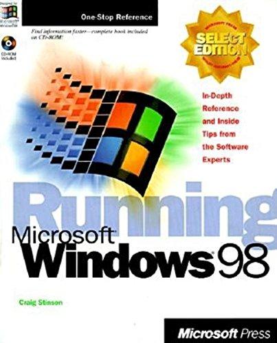 9781572316812: Running Microsoft Windows 98