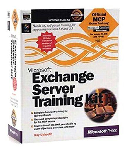 9781572317093: Microsoft Exchange Server Training Kit