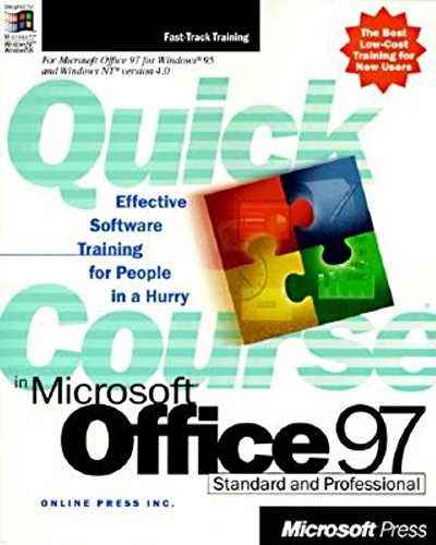 9781572317260: Quick Course in Microsoft Office 97