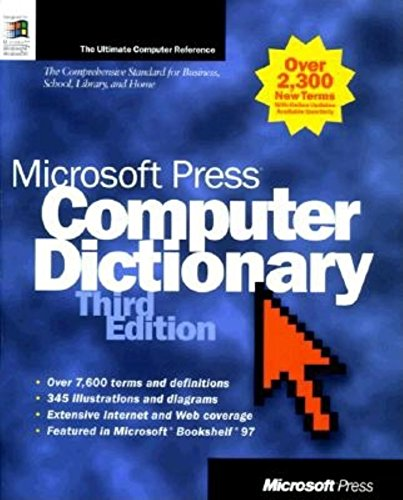 9781572317437: Microsoft Press Computer Dictionary