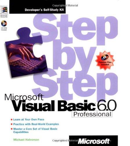 9781572318090: Microsoft® Visual Basic® Professional 6.0 Step by Step (Step by Step (Microsoft))