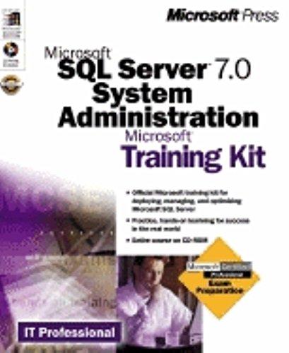 9781572318274: Microsoft SQL Server 7.0 System Administration Training Kit