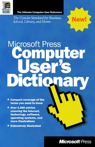 9781572318625: Microsoft Press Computer User's Dictionary
