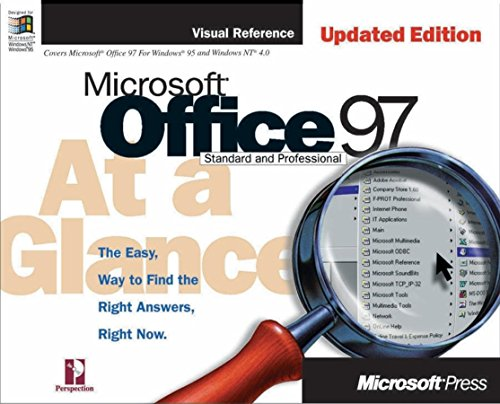 9781572318915: Microsoft Office 97 at a Glance, Updated Edition (At a Glance (Microsoft))