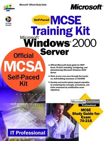 9781572319035: Microsoft Windows 2000 Core Requirements, Exam 70-215: Microsoft Windows 2000 Server