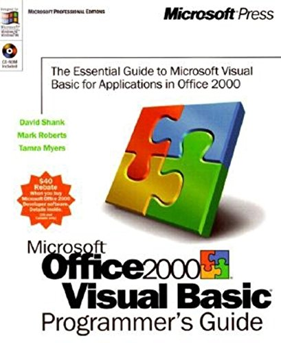 9781572319523: Microsoft Office 2000/Visual Basic Programmer's Guide (Microsoft Professional Editions)
