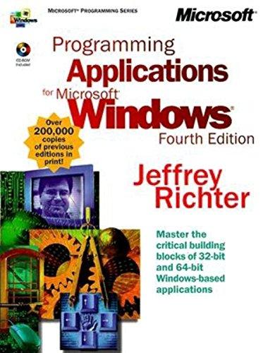 9781572319967: Programming Applications for Microsoft Windows