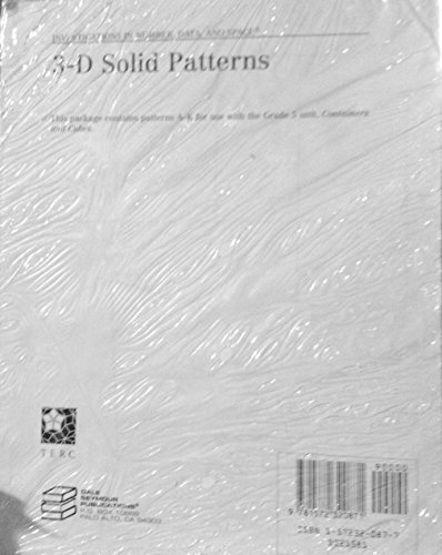 3-D Solid Patterns (Investigations in Number, Data, and Space, Patterns A-K): n/a