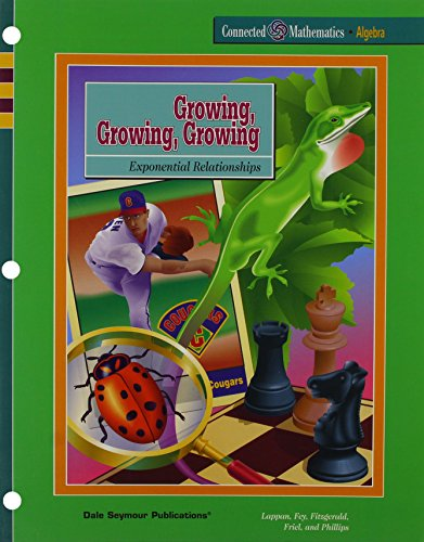 9781572321823: Growing Growing Growing: Exponential Relationships
