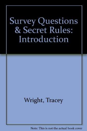 9781572324688: Survey Questions & Secret Rules: Introduction
