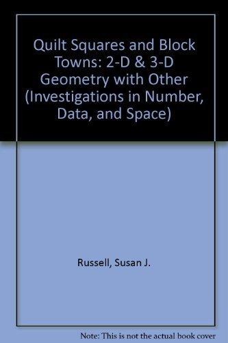Quilt Squares and Block Towns : 2-D: Julie Sarama; Douglas