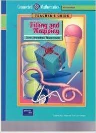 Connected Mathematics, Filling and Wrapping: Three Dimensional: Glenda Lappan