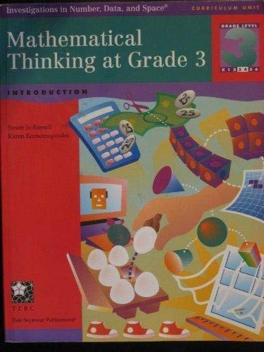 9781572326941: Mathematical thinking at grade 3: Introduction (Investigations in number, data, and space)