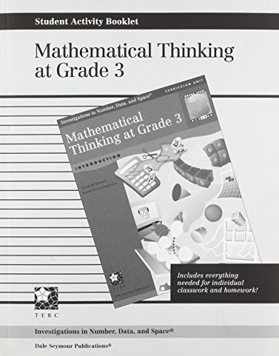 9781572327047: Mathematical Thinking at Grade 3 : Introduction (Investigations in Number, Data, & Space Ser.)