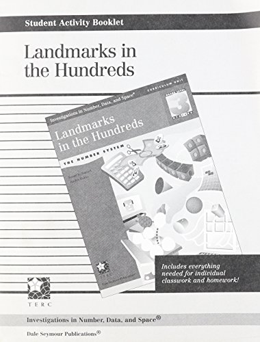 9781572327085: INVESTIGATIONS GR 3 STUDENT ACTIVITY BOOKLET: LANDMARKS IN THE HUNDREDS