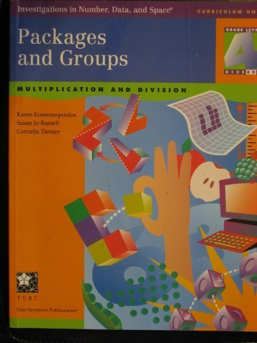 9781572327511: Packages and Groups: Multiplication and Division : Grade 4 : Also Appropriate for Grade 5