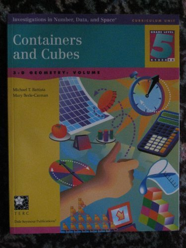 9781572328037: Containers and Cubes: 3-D Geometry - Volume