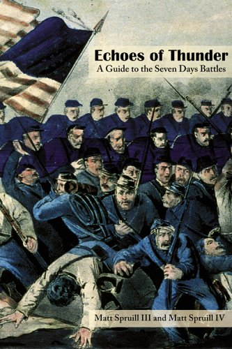 9781572335479: Echoes of Thunder: A Guide to the Seven Days Battles