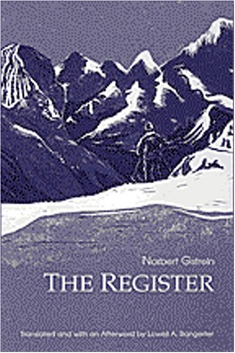 The Register (Studies in Austrian Literature, Culture, and Thought Translation Series): Norbert ...