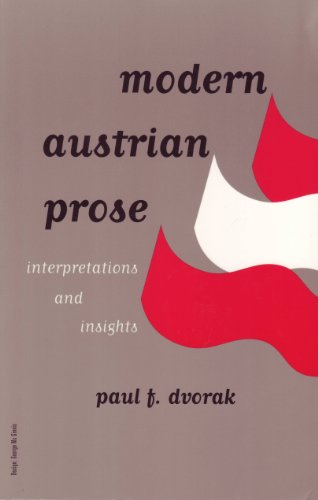 9781572411616: Modern Austrian Prose: Interpretations and Insights. Volume 2. (Studies in Austrian Literature, Culture and Thought)