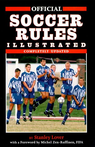 9781572433304: Official Soccer Rules Illustrated