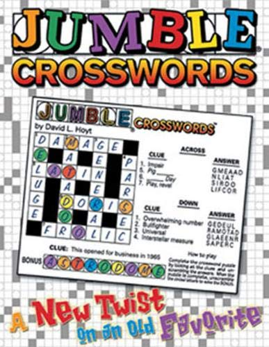 Jumble Crosswords?: A New Twist on an Old Favorite (Jumbles )