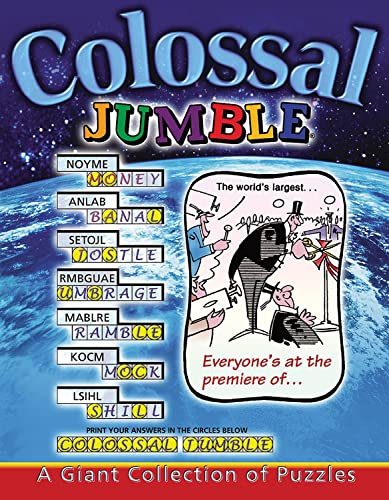 9781572434905: Colossal Jumble®: A Giant Collection of Puzzles (Jumbles)