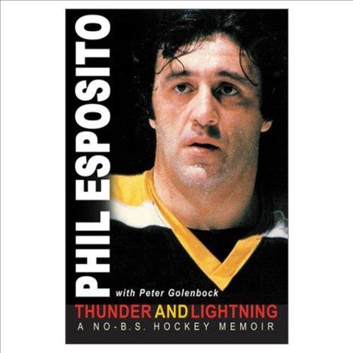 9781572435391: Thunder and Lightning: A No-B.S. Hockey Memoir
