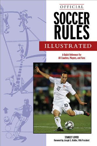9781572435544: Official Soccer Rules Illustrated: A Quick Reference for All Coaches, Players, and Fans