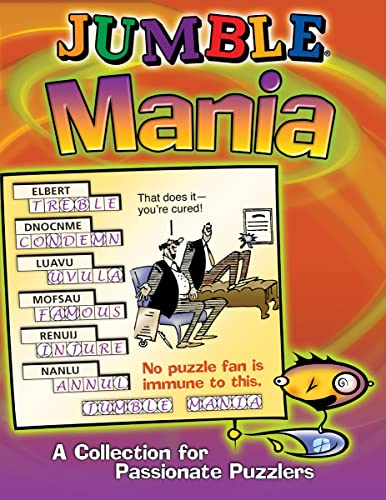 Jumble® Mania: A Collection for Passionate Puzzlers (Jumbles®) (1572436972) by Tribune Media Services