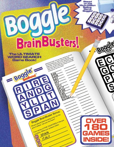 Boggle Brain Busters!: The Ultimate Word-Search Puzzle Book: David L. Hoyt; Jeff Knurek