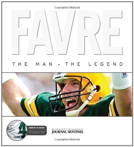 9781572439207: Favre: The Man, the Legend with CD