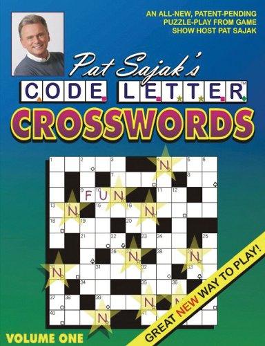 pat sajak   sajaks code letter crosswords   AbeBooks